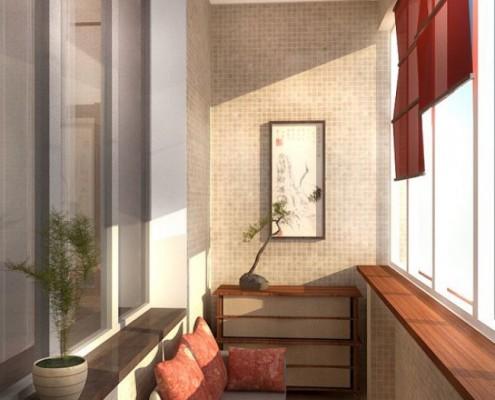 Balkono įrengimo idėjos