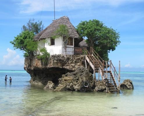 Zanzibaras Tanzanija - Restoranas